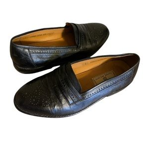 Givenchy Vintage Leather Loafers - Men's Size 6